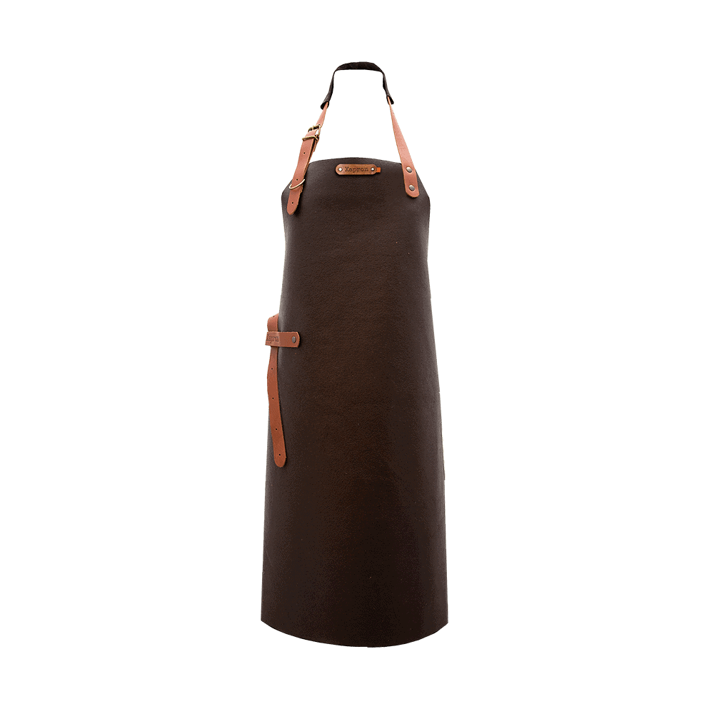 Apron Kansas - Brown