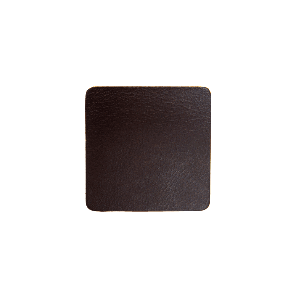 Coasters - Set 4 Pieces - Brown