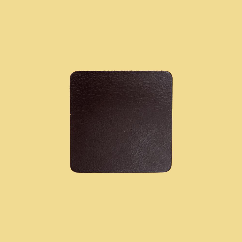 Onderzetters Bruin - Set 4 Stuks - Bruin