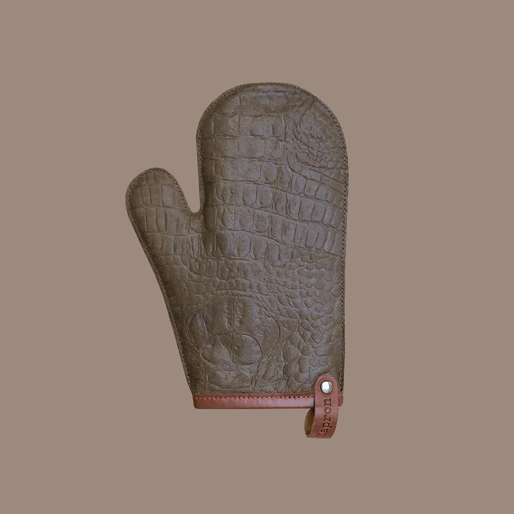 Oven Glove Caiman - Rust