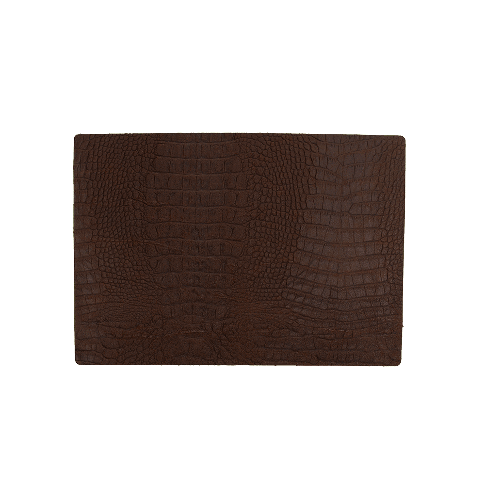 Placemat Caiman - Set 4 Pieces - Brown