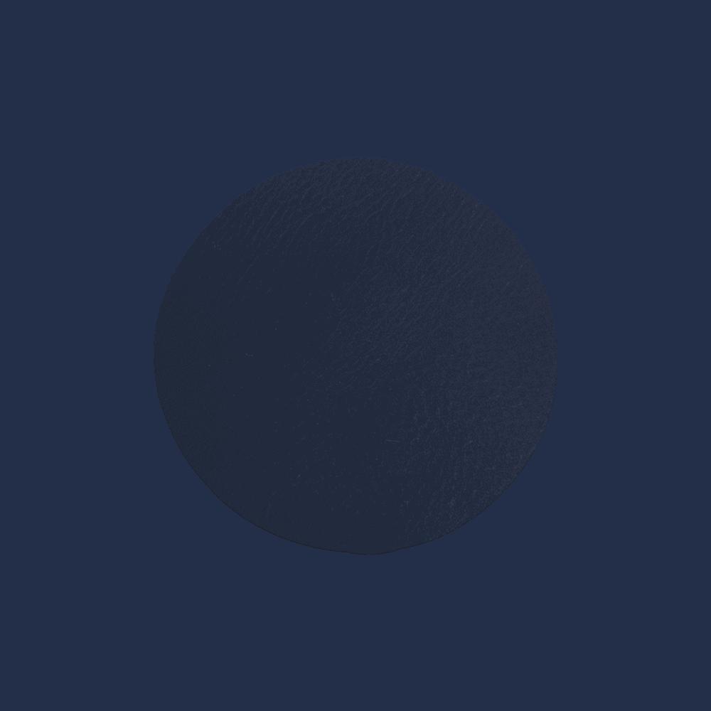 Onderzetters Rond - Set 4 Stuks - Blauw
