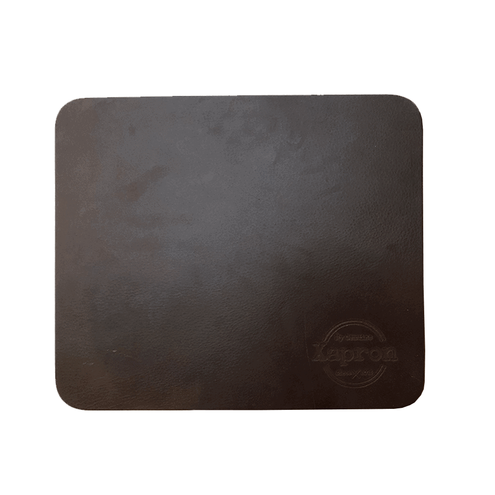 Leather Mouse Pad - Brown